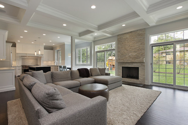 Oxford Development traditional-family-room