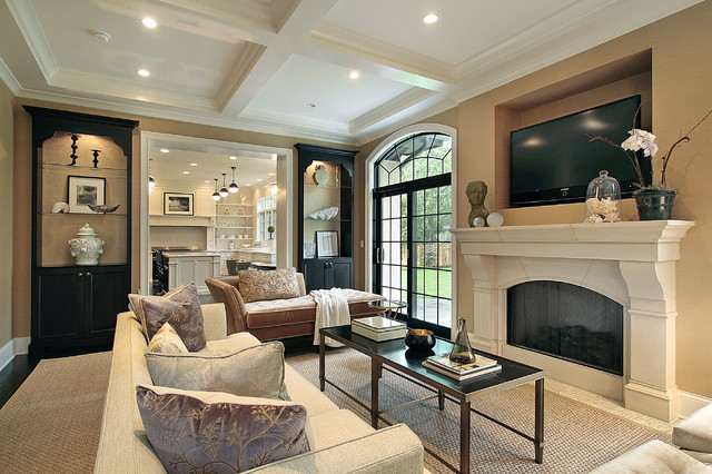 Oxford Development traditional family room