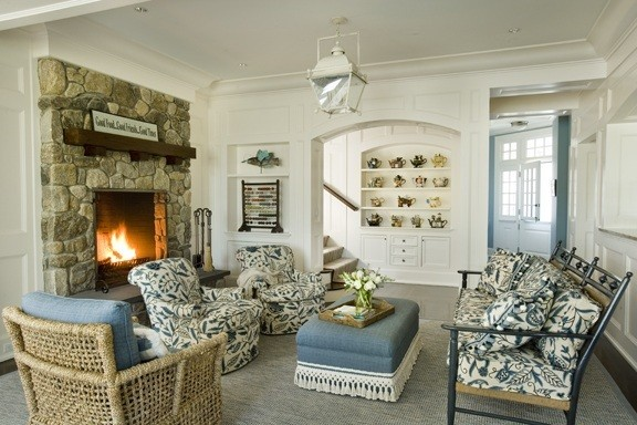 Oyster Harbors Residence traditional-family-room