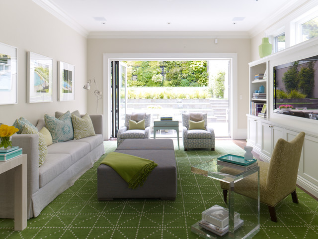 Pacific Heights Family Home contemporary-family-room