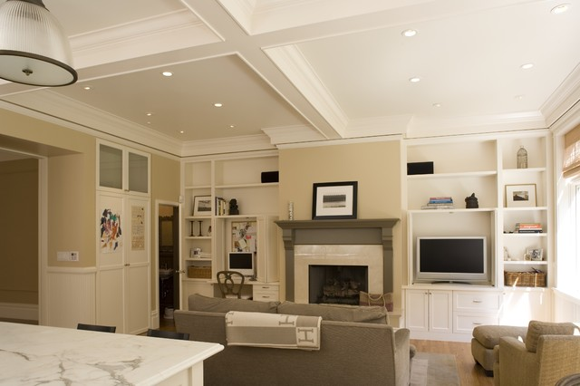 Pacific Heights Home traditional family room