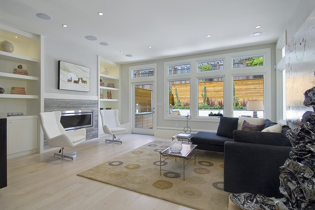 Pacific Heights Remodel and Addition contemporary-family-room