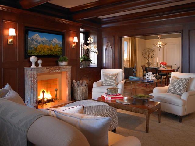 Pacific Heights Residence - Cocktail Lounge traditional-family-room