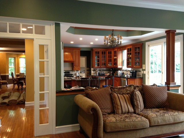 Paint Consultation Colors Traditional Family Room Other Metro
