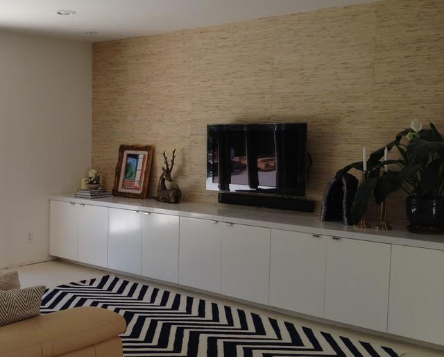 Palm Springs Condo contemporary-family-room