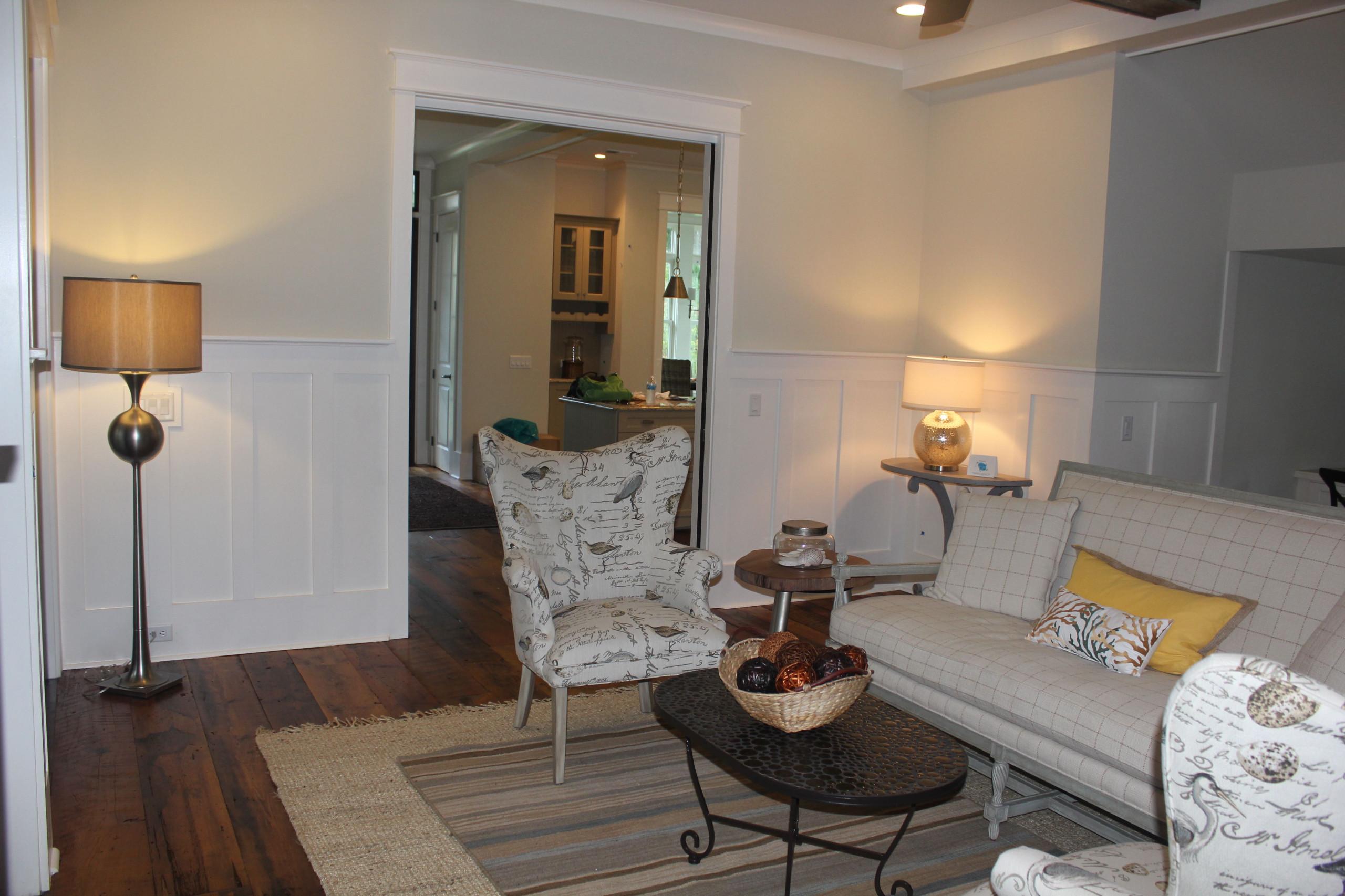 Palmetto Bluff Model Home Family Room