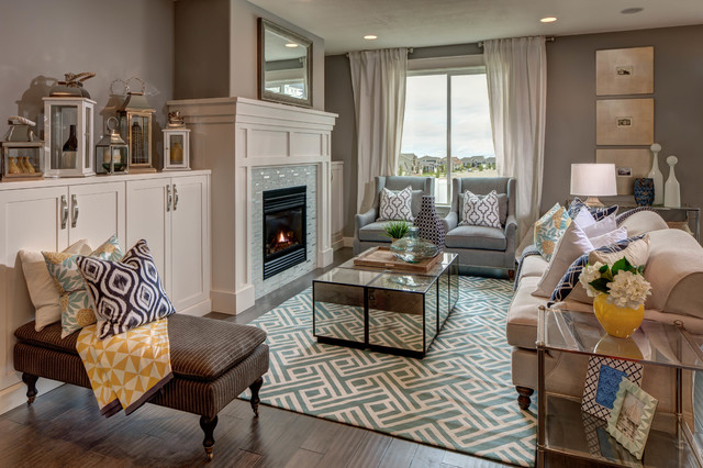 Parade Of Homes 2014 Traditional Family Room Salt