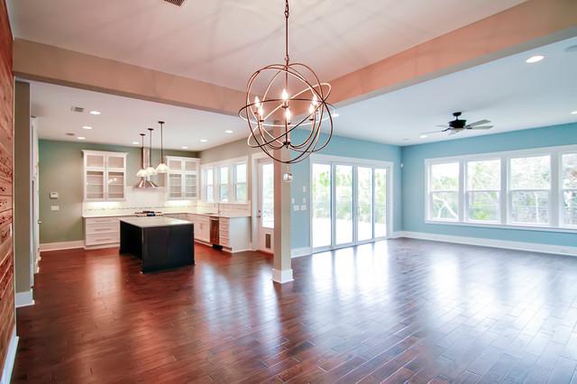 Paradise Key South Beach - Beach Style - Family Room - Jacksonville - by Glenn Layton Homes