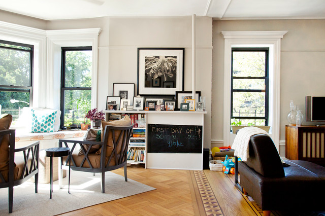 Park Slope, Brooklyn contemporary-family-room