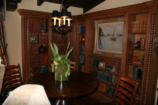 Pasadena Showcase 2012 - Family Library traditional-family-room