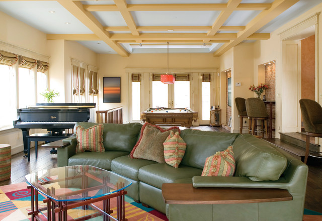 Past Family Room Designs traditional-family-room
