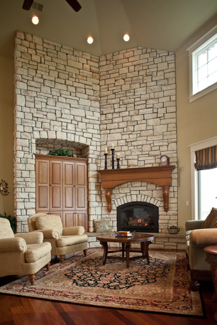Peaceful Living traditional-family-room