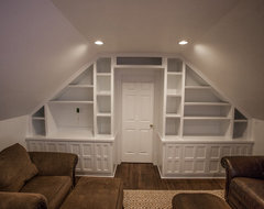 Peachtree Rd attic traditional family room