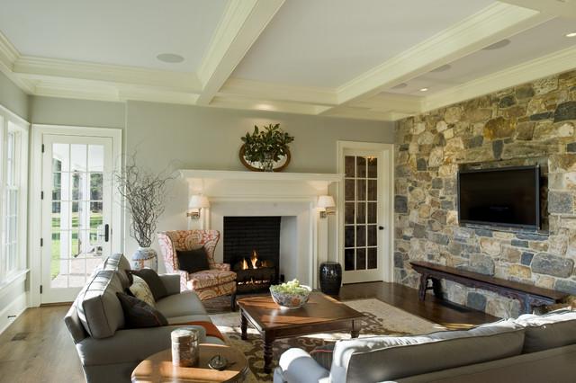 Pennsylvania Farm House traditional-family-room