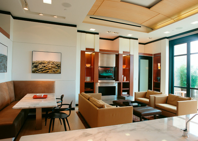 Penthouse contemporary-living-room