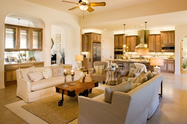 Perugia Family Room By Sitterle Homes Modern Family