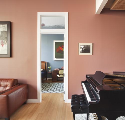 Wie Sie Altrosa als Wandfarbe kombinieren können