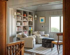 Modern Meets Traditional - Pacific Heigts transitional-family-room