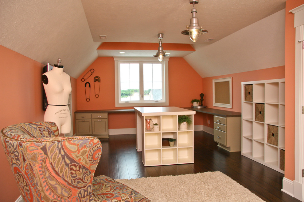 Pine Valley - Lake Cabin - Traditional - Family Room ...