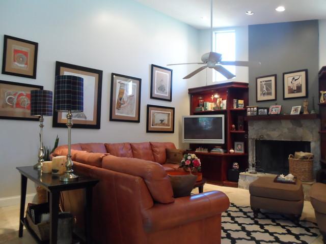 Plantation, FL contemporary-family-room