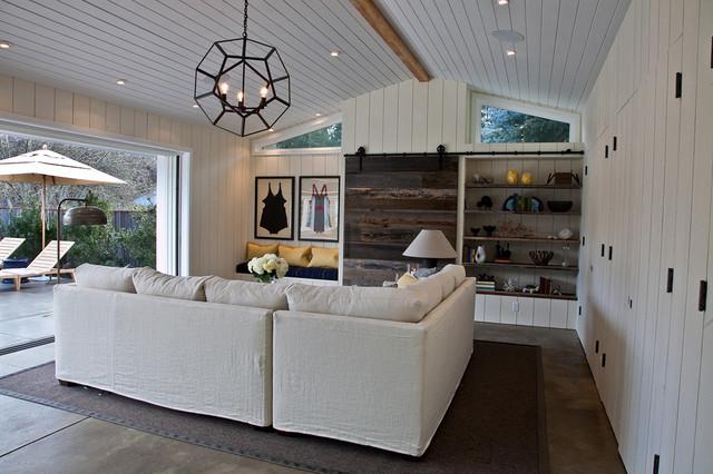 contemporary family room by Quatrine Custom Furniture