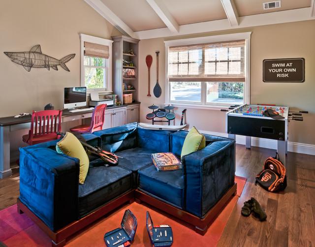 Portfolio of Work contemporary-family-room