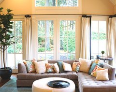 Portland Hills House traditional-family-room