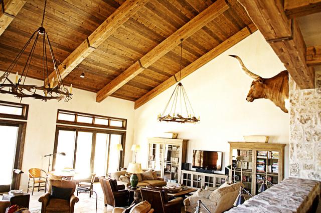 Possum Kingdom traditional-family-room