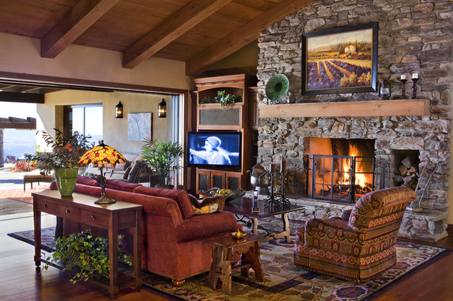 Poway Residence eclectic-family-room