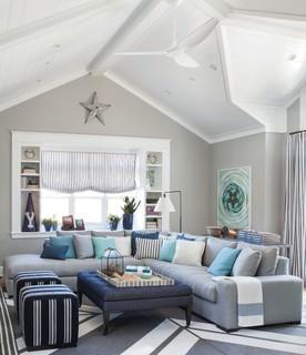 Pratt Amp Lambert Paints Beach Style Family Room Other