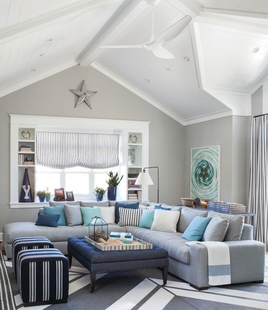 Pratt Lambert Paints Beach Style Living Room Other By Pratt Lambert Paints