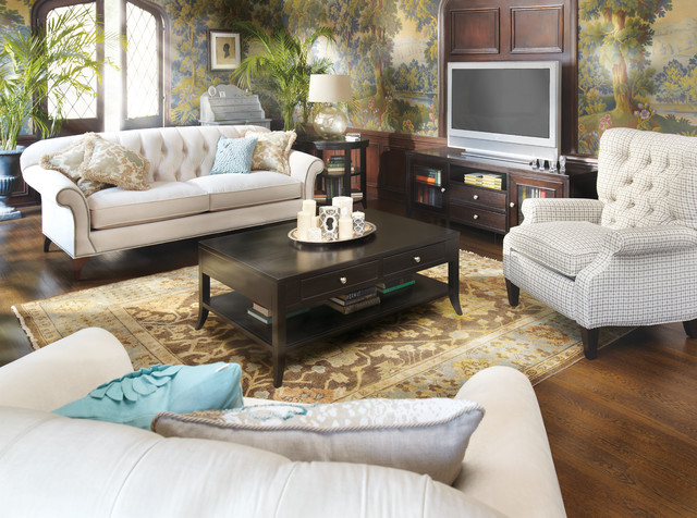 Preston Sofa Traditional Family Room Cleveland by Arhaus