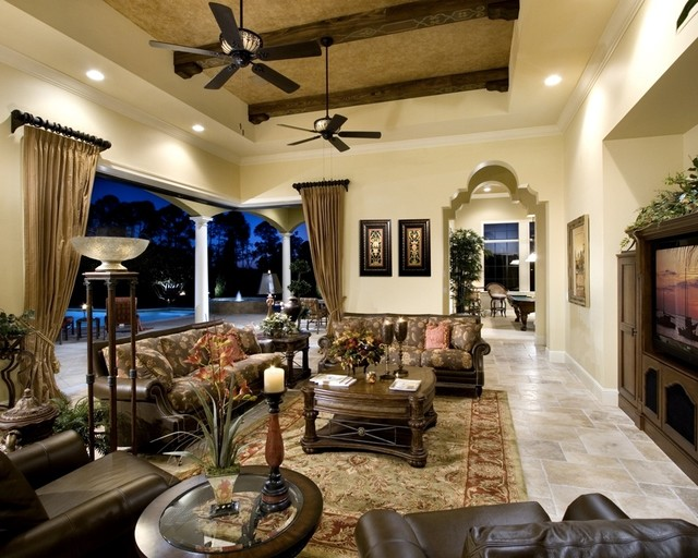 Private Residence A Windermere Florida Mediterranean Family Room Other Metro By Rey