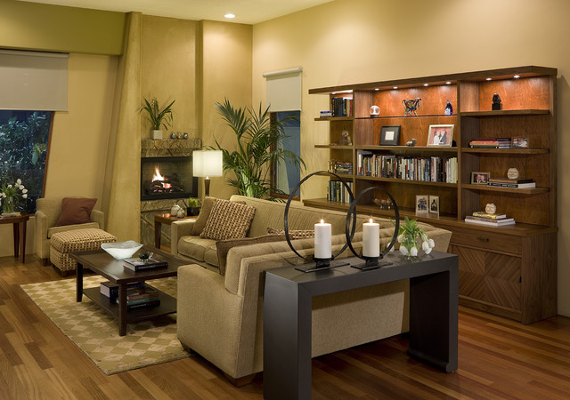 Private Residence contemporary-family-room