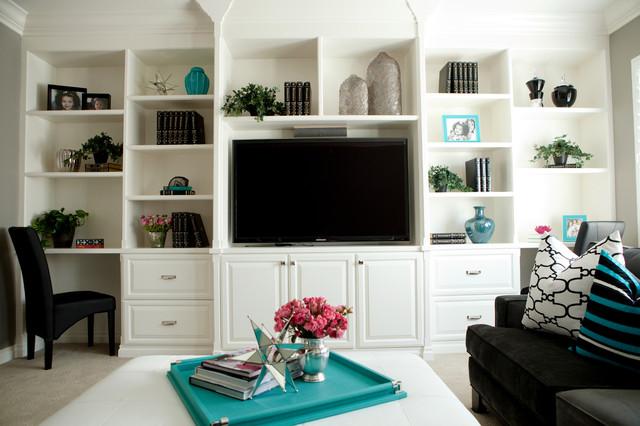 Private Residence modern-family-room