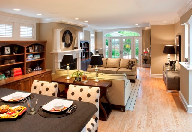Private Residence-Whitefish Bay Wisconsin traditional-family-room