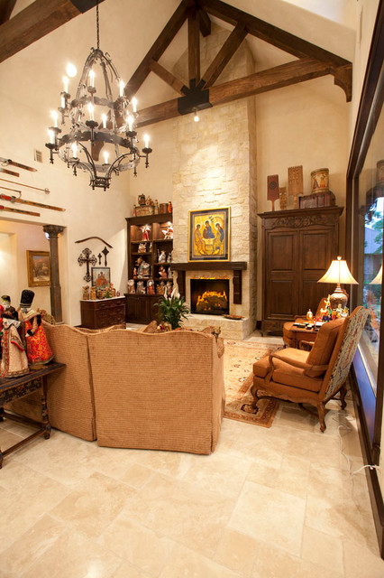 Private Residents mediterranean-family-room