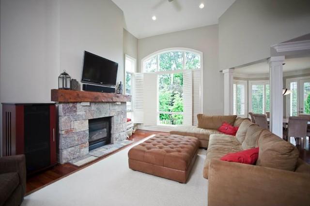 PRM Custom Builders LLC - New Custom Spaces contemporary-family-room