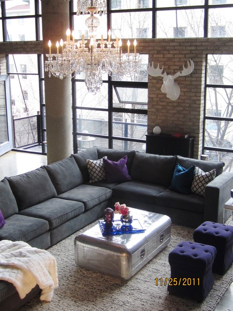 Producers Loft-living room eclectic-family-room