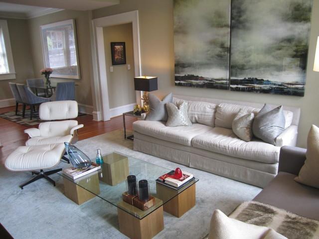 Project: Ansley Park Condo contemporary-family-room