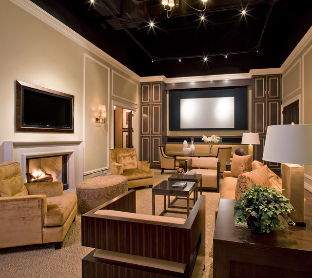 Starr Systems Design Center traditional-family-room