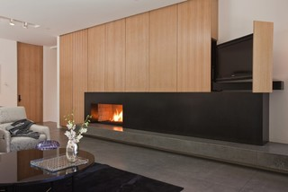 Projector Screens, Mirror TV's & Creative TV Mounts - Modern - Family Room - miami - by Control ...