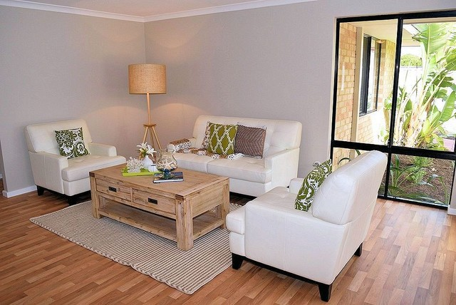 Property Styling To Warnbro Relaxed Hamptons Style Family Room