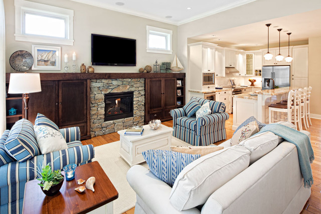 Qualicum Landing beach-style-family-room