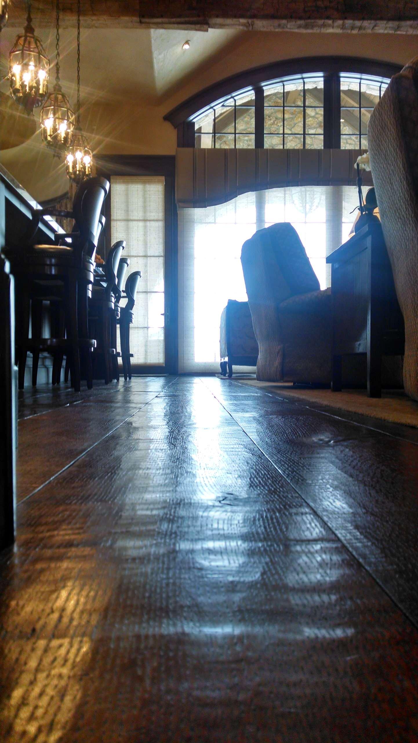 Quartered Oak Rules in Park City Residence
