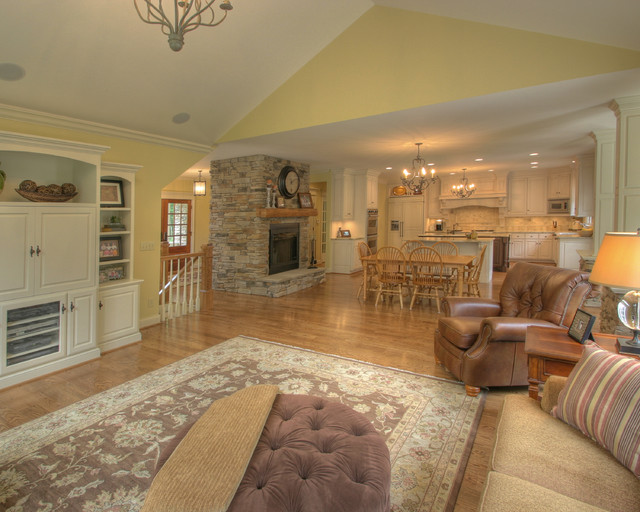Quiet Casual Home: Family Room traditional-family-room