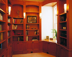 R-E-S-P-E-C-T study traditional home office