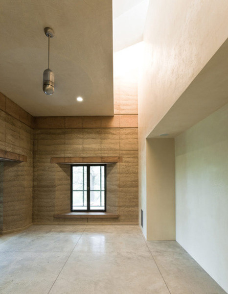 Rammed Earth family-room