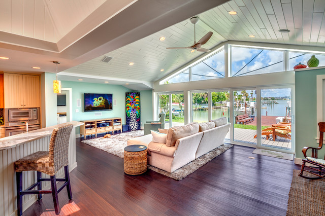 Ranch Home Remodel coastal makeover: a florida home sees the light