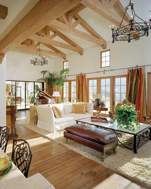Rancho Mirage Villas mediterranean-family-room